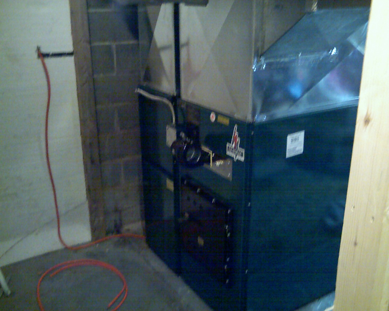 Oil Furnace Newmac Combination Wood Oil Furnace